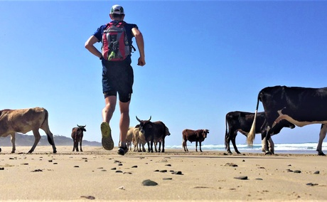 Transkei, Wild Coast, Eastern Cape, South Africa. Multi-day trail running tours.